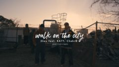 2key / walk on the city feat. KATY, 飛燕 a.k.a. chakr@ prod.Castro beats